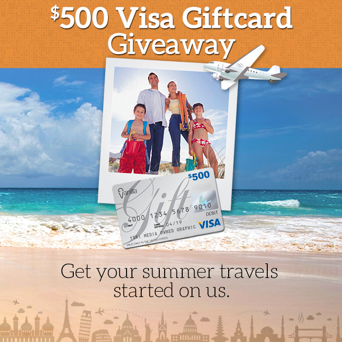 Win a 500 visa gift card for summer fun buns in my oven win a 500 visa gift card for summer fun negle Choice Image